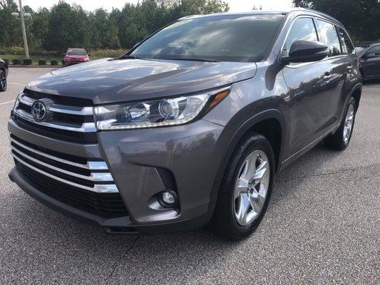 2019 Toyota Highlander Limited Toyota Dealer Serving Auburn Al